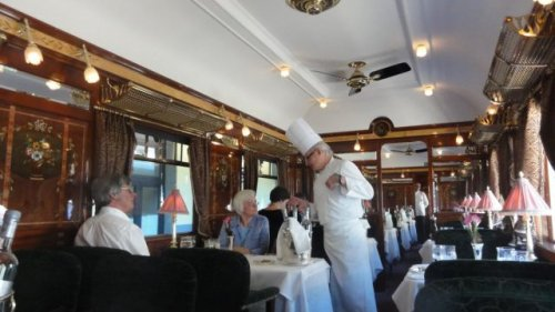 Экзотические железнодорожные путешествия – чистая роскошь и изящество (31 фото)