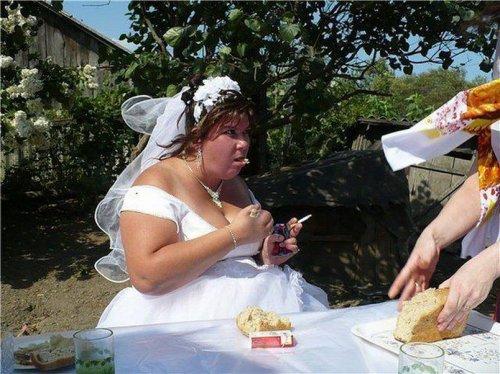 Негламурные свадебные фотографии (19 шт)