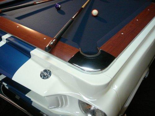 Бильярдные столы из ретромобилей (6 фото)