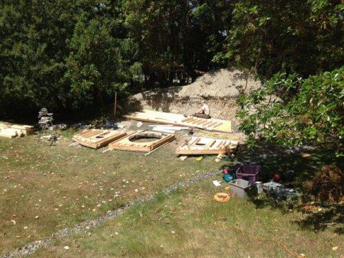 Хижина хоббита на заднем дворе (21 фото)
