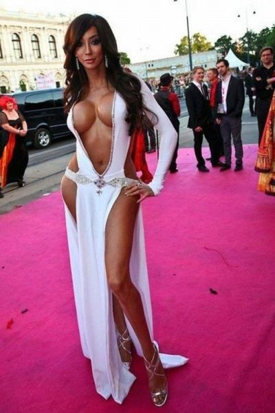 порно вечерних платьях