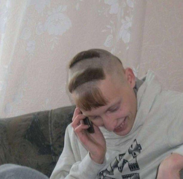 Самая смешная причёска фото