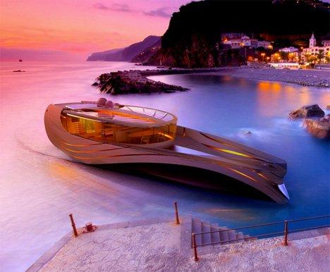 15 Невероятно шикарных дизайнов суперъяхт (25 фото)