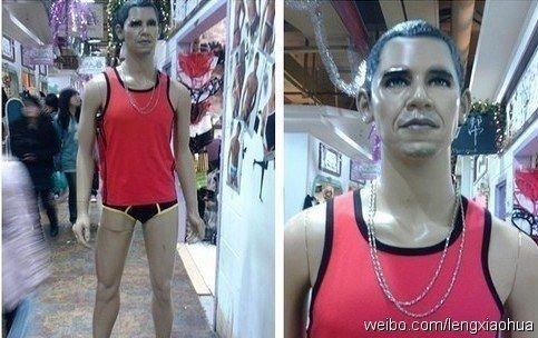 Необычные и странные манекены, которые можно увидеть в магазинах (15 фото)