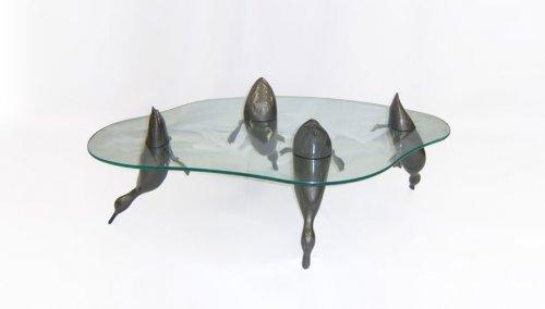 15 Потрясающих столов, которые вы бы захотели поставить у себя дома (29 фото)