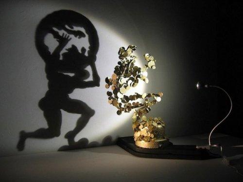 Теневые образы художника Рашада Алакбарова (11 фото)