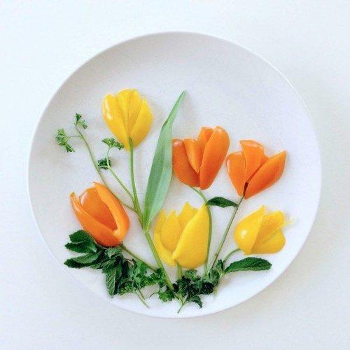 Кулинарные картины Лорен Пурнелл (22 фото)