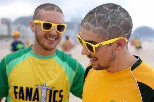 Самые яркие болельщики на Чемпионате мира по футболу в Бразилии (31 фото)