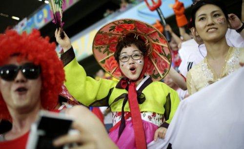 Настроение и эмоции на Чемпионате мира по футболу (29 фото)
