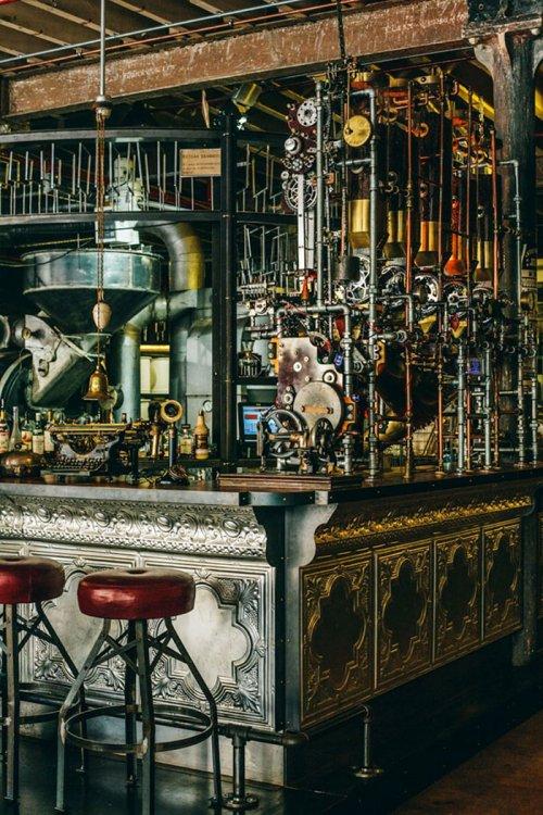 19 Лучших в мире интерьеров ресторанов и баров (67 фото)