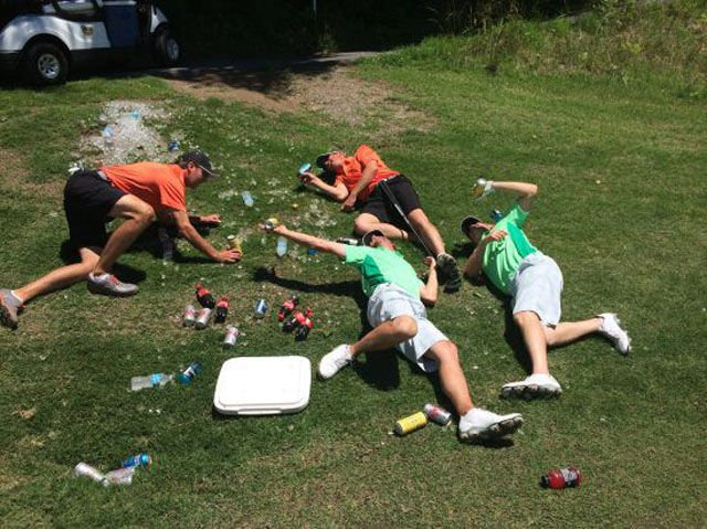 Пьяные на природе — photo 10