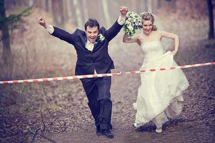 россии тоже прикольное оформление свадебных фото чтобы получить