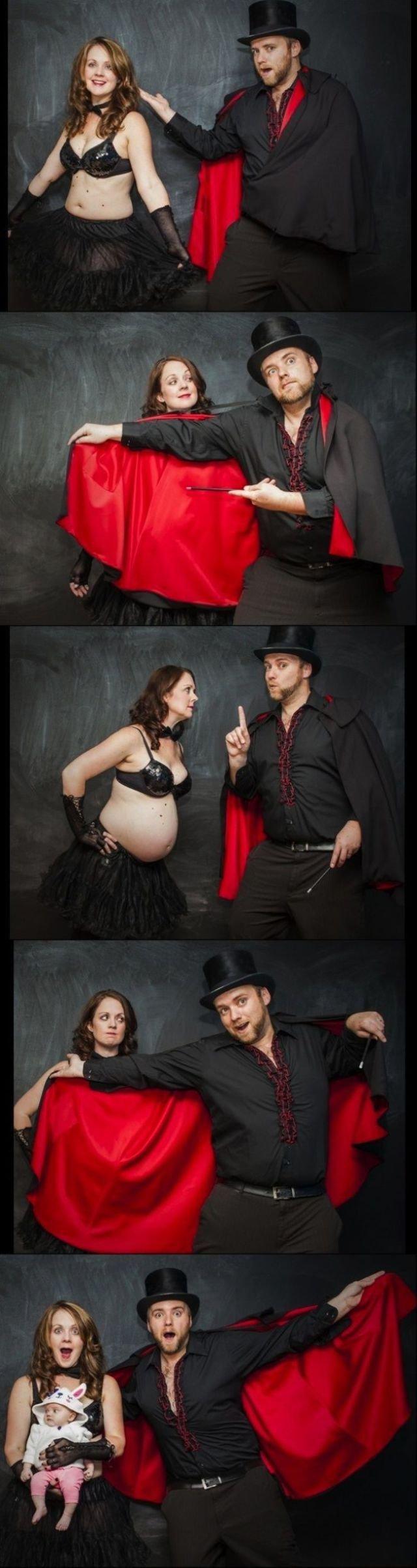 Идеи фото беременных каждый месяц