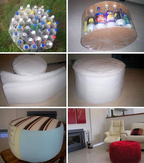 Креативные вещи из пластиковых бутылок