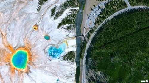Спутниковые снимки нашей планеты (33 фото)