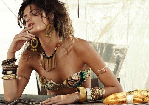 Изабели Фонтана в рекламе купальников от Morena Rosa (10 фото)