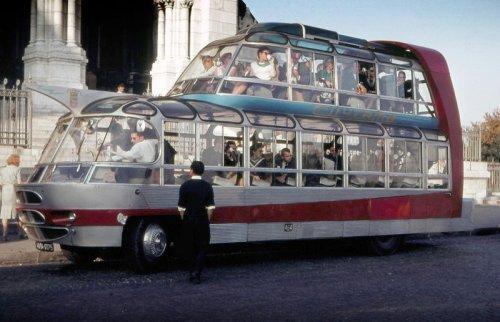 Самые необычные и причудливые автобусы (8 фото)