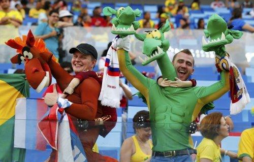 Самые яркие болельщики Чемпионата мира по футболу 2014 (30 фото)