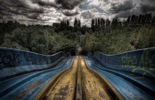 Заброшенные парки аттракционов (57 фото)
