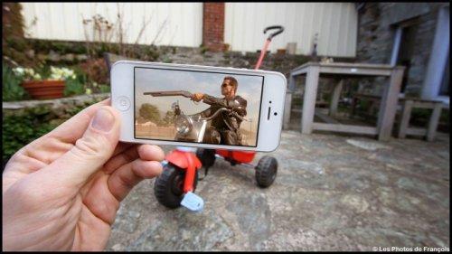 Франсуа Дурлен делает оригинальные фотографии с помощью смартфона (34 фото)