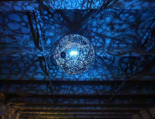 25 Самых креативных дизайнов ламп и люстр (46 фото)