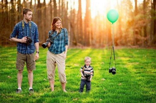 Несколько оригинальных идей, чтобы запечатлеть свою беременность (20 фото)