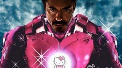 """Известные персонажи и супергерои в стиле """"Hello Kitty"""" (13 фото)"""