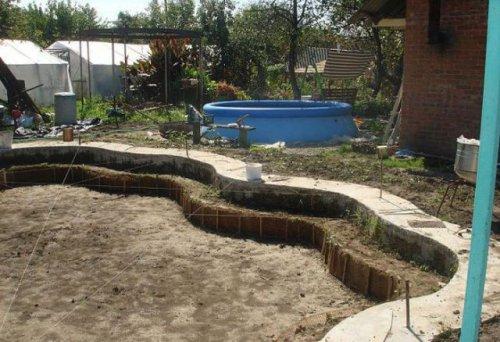 Отличный бассейн своими руками на заднем дворе (20 фото)