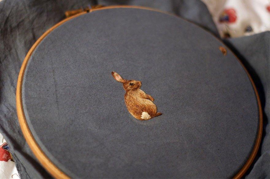 Миниатюрные вышивки хлои джордано