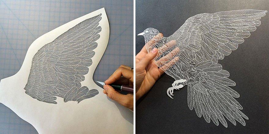 Красивая работа из бумаги своими руками