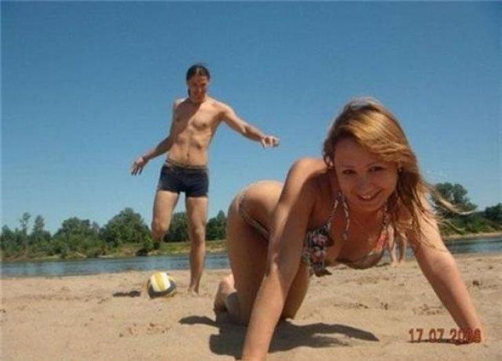 видео и фото на пляже