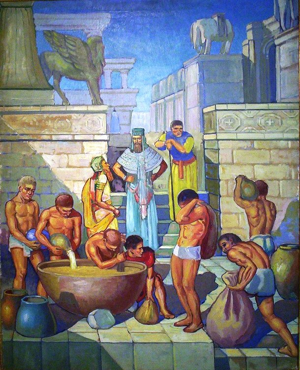 "6 beer in mesopotamia Quotes: ""the formal, intellectual atmosphere of the symposion also reminded the greeks how civilized they were, in contrast to the barbarians, who either drank lowly, unsophisticated beer or-even worse-drank wine but failed to do so in a manner that met with greek approval."