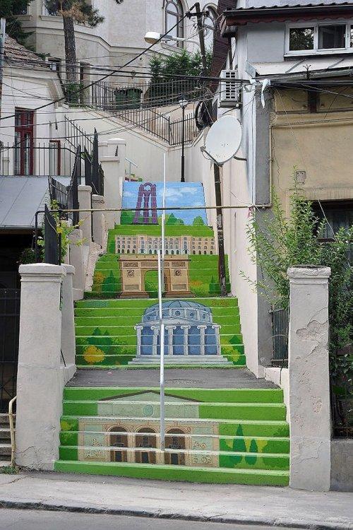 Удивительные и прекрасные лестницы со всего мира (26 фото)
