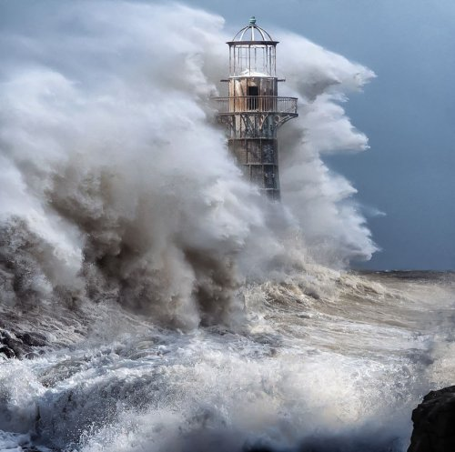 Впечатляющие фотографии с маяками (29 шт)
