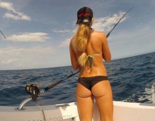 Страстные рыбачки (26 фото)