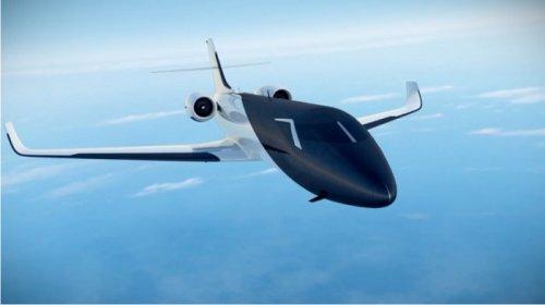 Концепт пассажирского самолёта без иллюминаторов (13 фото)