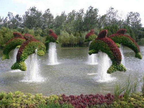 Топ-25 впечатляющих топиарных скульптур