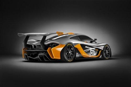 McLaren P1 GTR мощностью 1000 л.с. (7 фото)