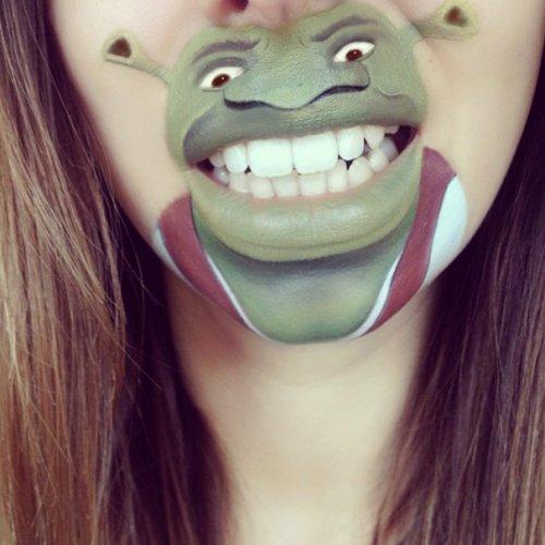Мультяшные персонажи с губами Лауры Дженкинсон (28 фото)