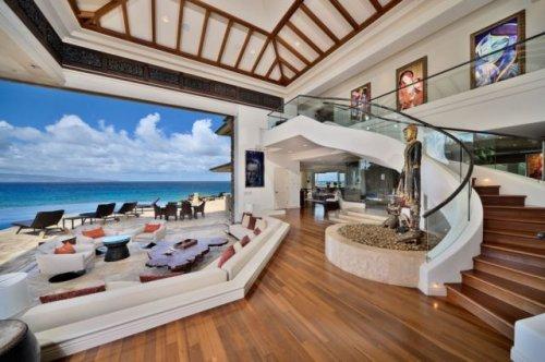 Потрясающие интерьеры и роскошный дизайн домов (28 фото)