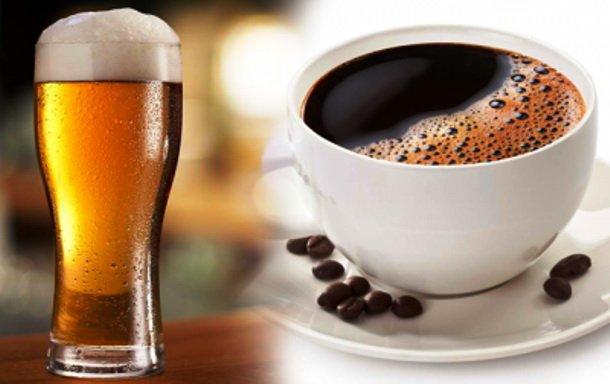 Кофе с пивом эффект