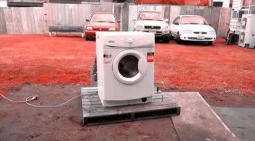 Психоделический транс в исполнении стиральной машинки