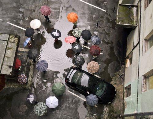 Оригинальные зонты, которые поднимут настроение в непогоду (27 фото)