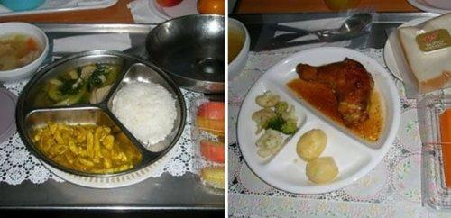 Разнообразие больничной еды по всему миру (22 фотографии)