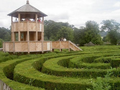 Longleat Hedge Maze: самый длинный в своём роде лабиринт в мире (8 фото)