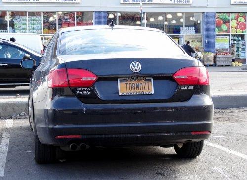 Прикольные номера на автомобилях русскоговорящих американцев (25  фото)