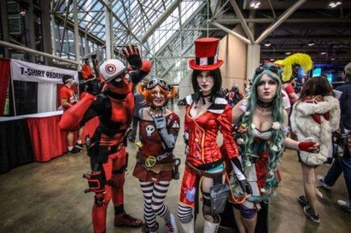 Самые яркие участники Fan Expo Canada 2014 (24 фото)