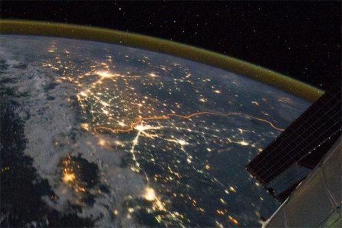 Топ-10 удивительных вещей, которые можно увидеть из космоса