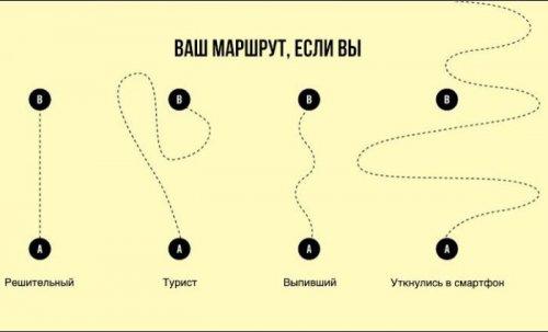 Правдивые факты о жизни в графиках и диаграммах (25 шт)
