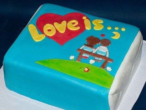 Ожидание vs. реальность: торт своими руками на годовщину свадьбы (3 фото)